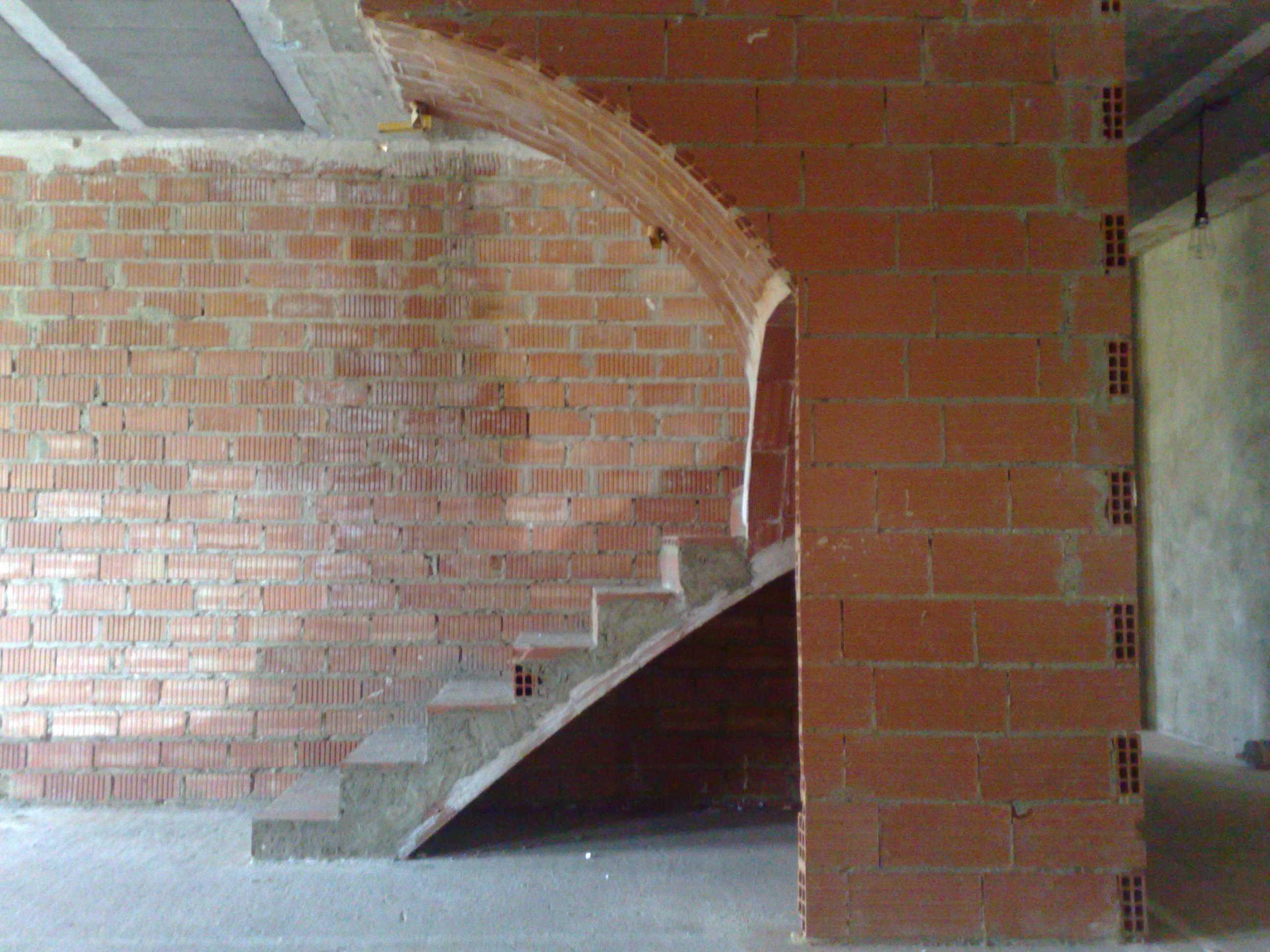 Escaleras rectas escaleras clavel - Escaleras de ladrillo ...