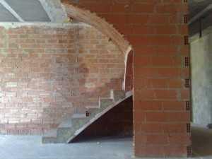 Escalera recta de un tramo